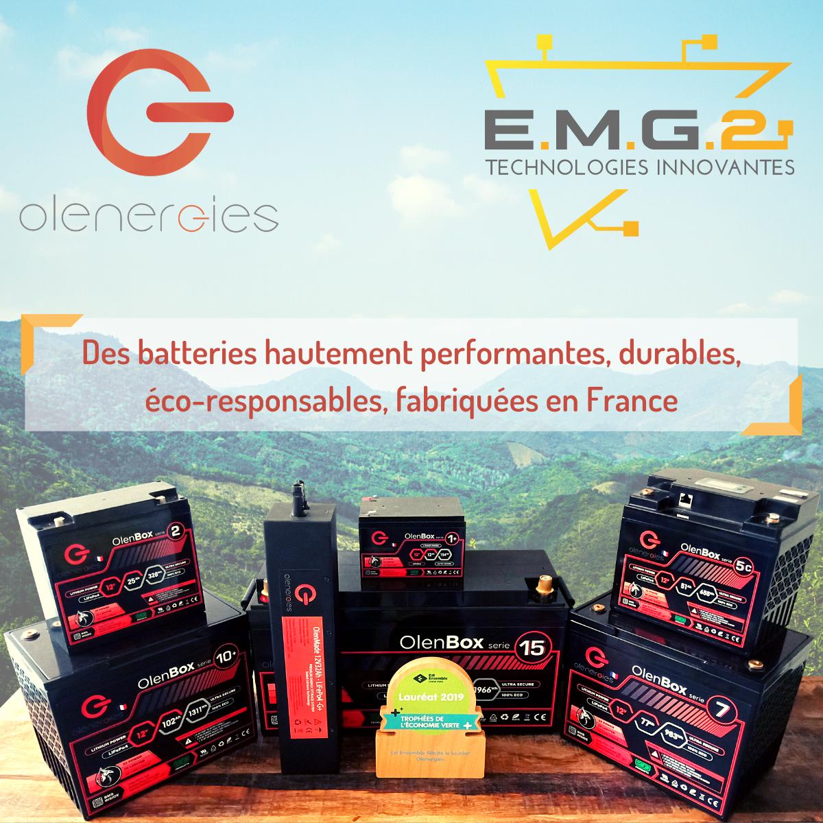 Olenergies Batteries