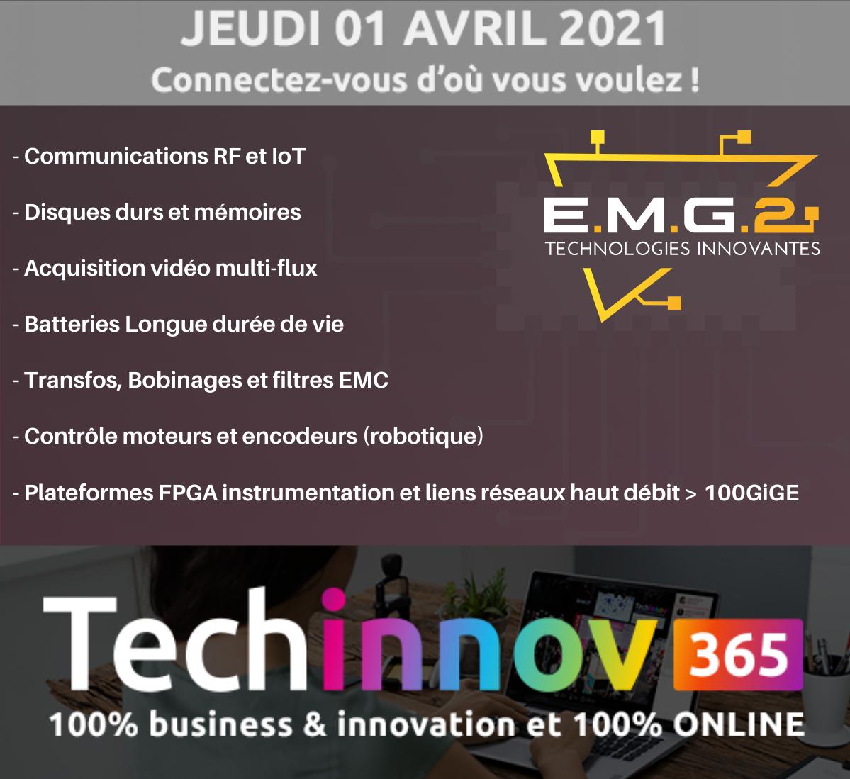 EMG2 à TechInnov